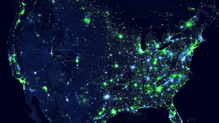Ingress Map of America